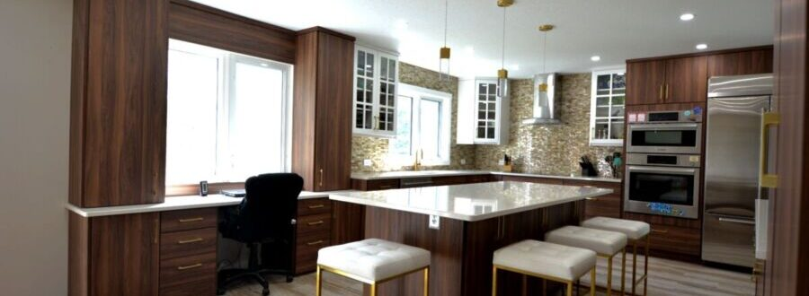 Image of Kitchen with a heart